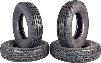ST 225//75R15 Trailer Tire Traimate Load Range D 8 Ply Radial 225//75-15 Single Tire 2257515 225 75 15 2