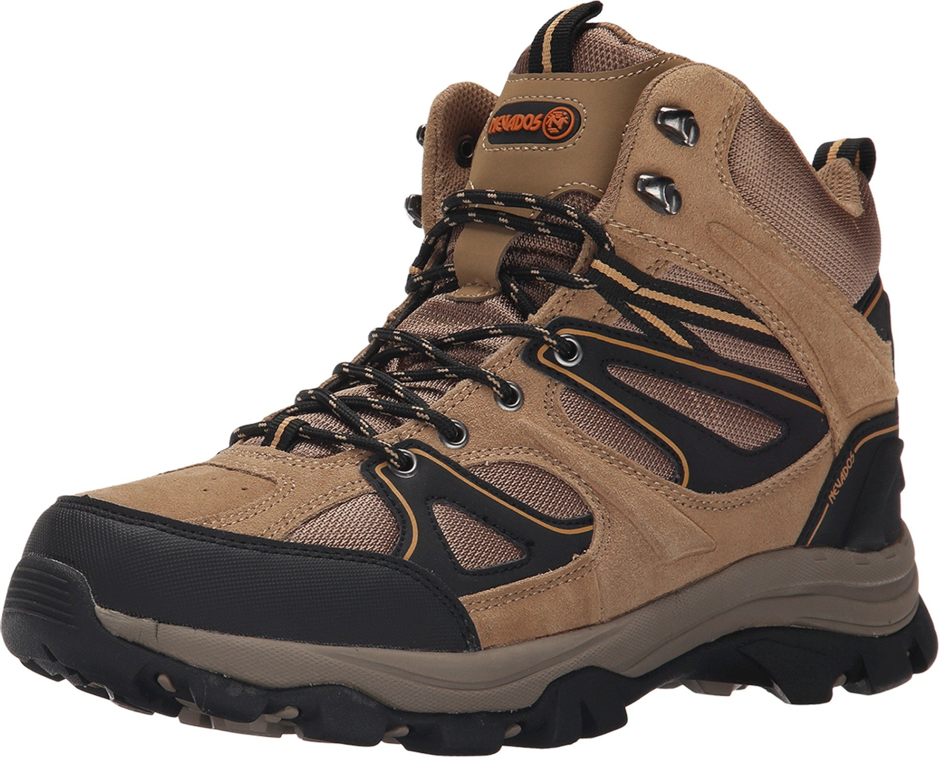 Nevados Men's Talus Hiking Boot, Light Brown/Light Brown/Black, 9 M US