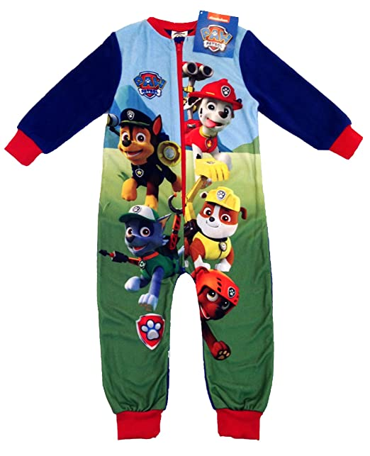 Paw Patrol - Pijama de una Pieza - para niño 18/24 Meses