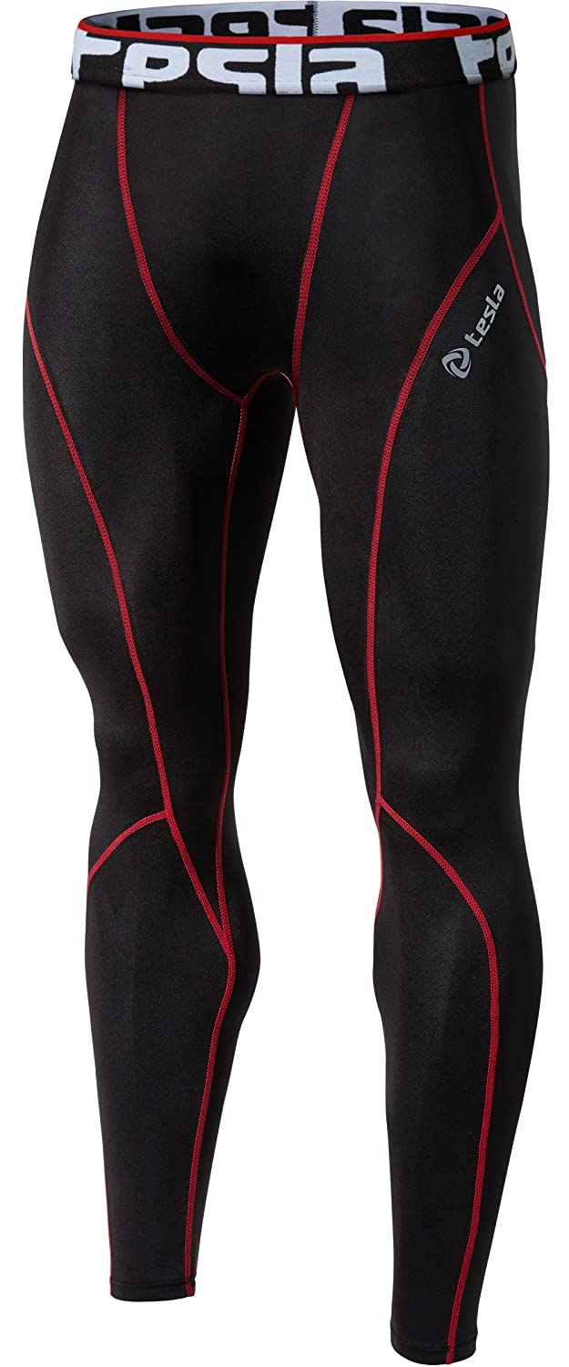 #2 Tesla Men's Compression Baselayer Running Tights