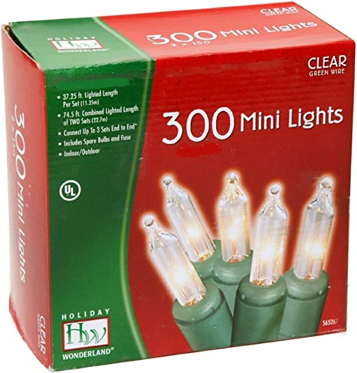 12 Holiday Wonderland 40842-88A 100 Ct Mini Led Cool White Christmas Light Set