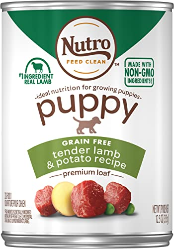 Nutro Puppy Canned Wet Dog Food, 12 12.5 oz. Cans