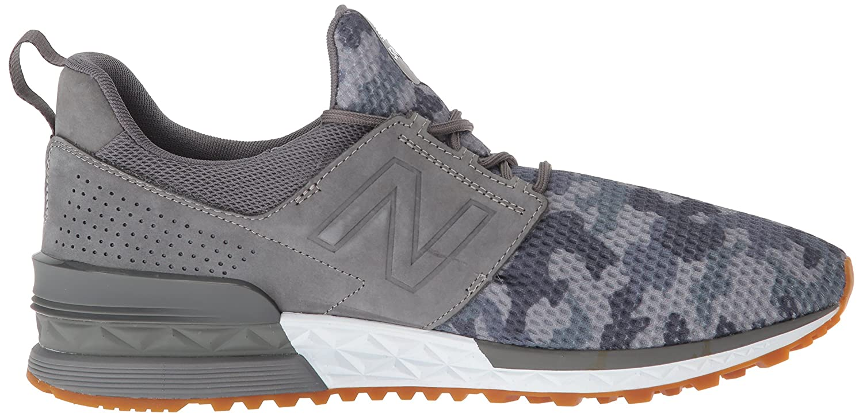 New Balance Männer - - Männer Balance MS574 Schuhe, 43 EUR - Width D, grau Multi Pewter 1985f7