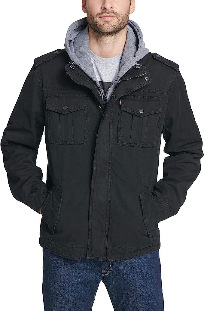 金盒特价 Levi's 李维斯 水洗棉 假两件 男式保暖夹克外套 2.4折$47.99起 海淘转运到手约¥406