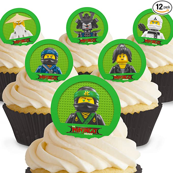 1.5 Inch Karate Martial Arts Precut Wafer Paper Cupcake Toppers 12 24 Or 35