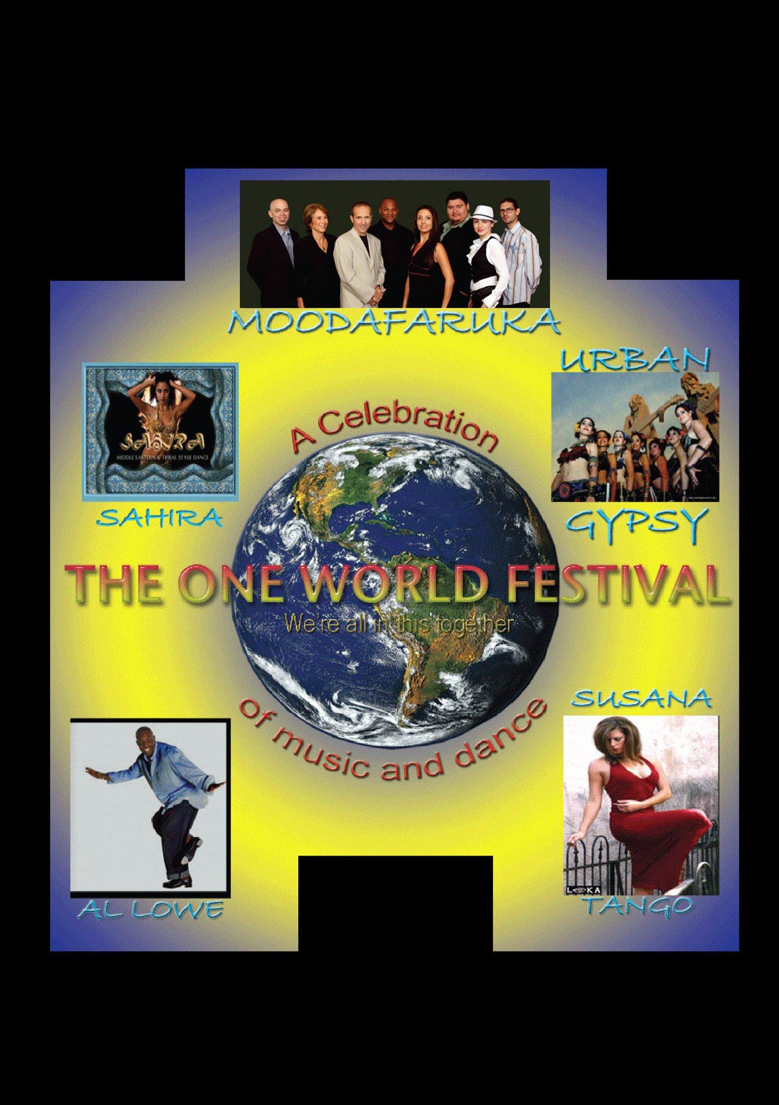DVD : Moodafaruka - One World Festival (DVD)