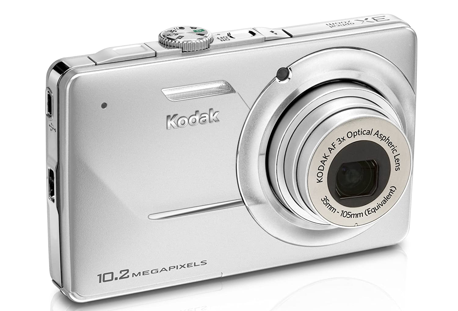 Amazon.com : Kodak Easyshare M340 Digital Camera (Silver) : Point And Shoot  Digital Cameras : Camera & Photo