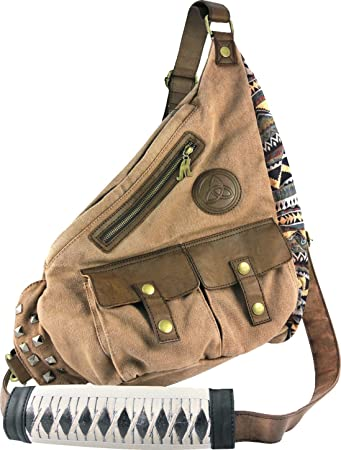 Amazon.com: Walking Dead Michonne Katana Sling Bag: Sports & Outdoors