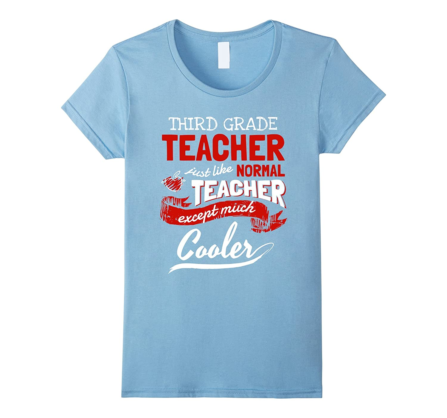 Womens Third Grade Teacher Cool T Shirt 3rd Grade Teacher Gifts Anz