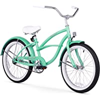 Firmstrong Urban Kids' Single Speed Beach Cruiser Bicycle (Mint Green)
