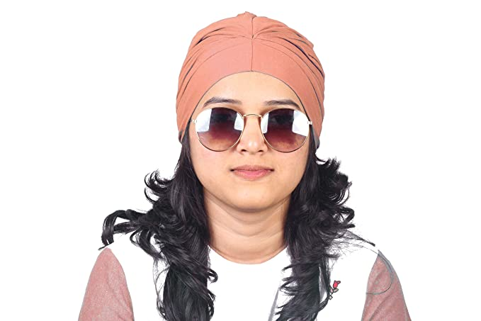 PEACH CHEMO BEANIES CANCER CAPS WOMEN SUMMER CHEMO CAPS SLEEP TURBAN FOR WOMEN  UNDERSCARF CAPS UNDER 78260c37d08c