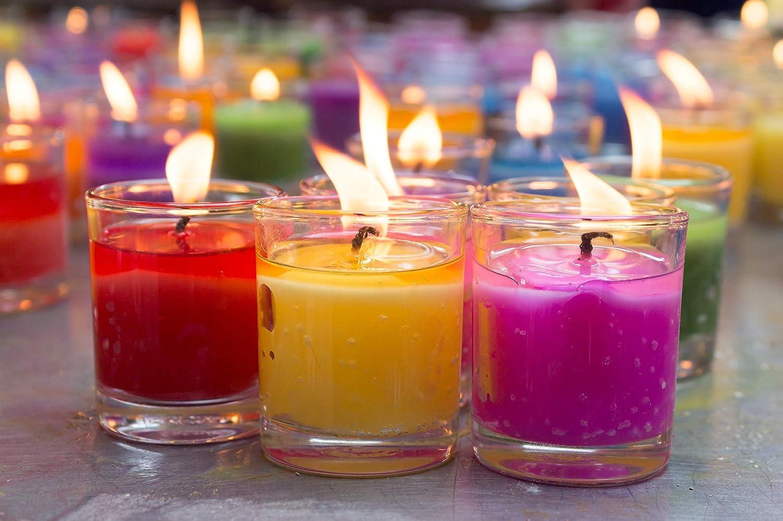 2kg Verschiedene Gr/ö/ßen Wachsgranulat pastillen Materialix Paraffinwachs f/ür Kerzen - Kerzenwachs Kerzenwachs zum gie/ßen
