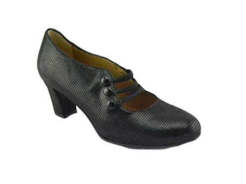 Comoda Nero Melluso Scarpa Donna it I1204Amazon Tacco 03264a Con 0OnkX8wP