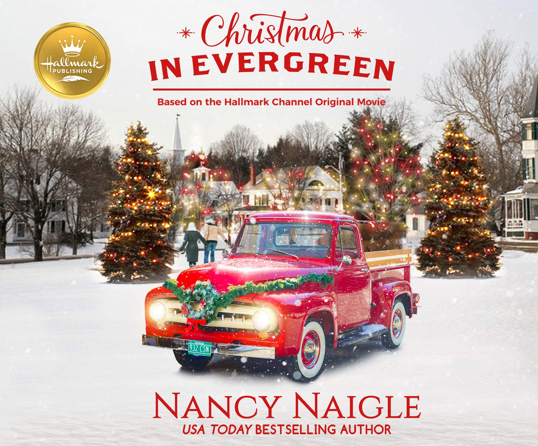 Christmas In Evergreen Truck.Amazon Com Christmas In Evergreen Based On The Hallmark