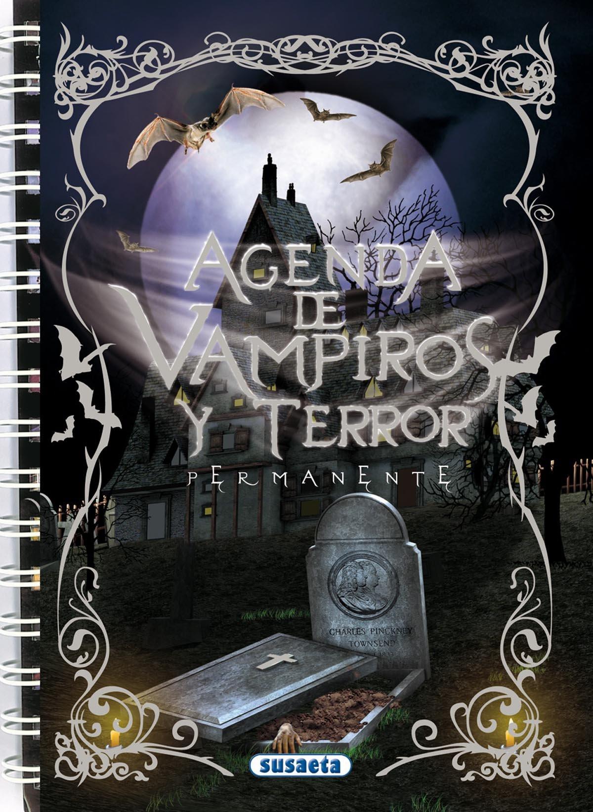 Vampiros y terror (Agenda Escolar Permanente) (Spanish ...