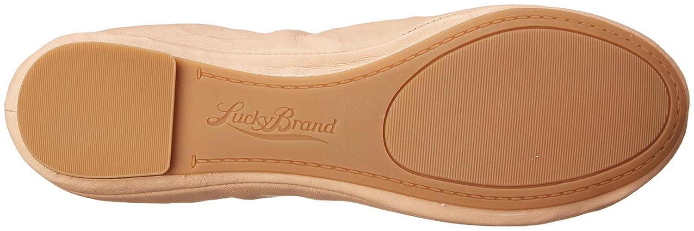 Lucky Brand Women's Lucky Emmie Ballet Flat B00GRASBPI 7 B(M) US|Nude