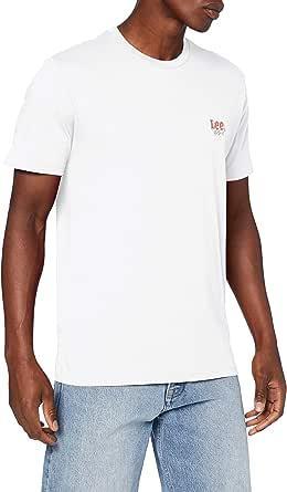 Lee SS Small Logo tee Camiseta para Hombre