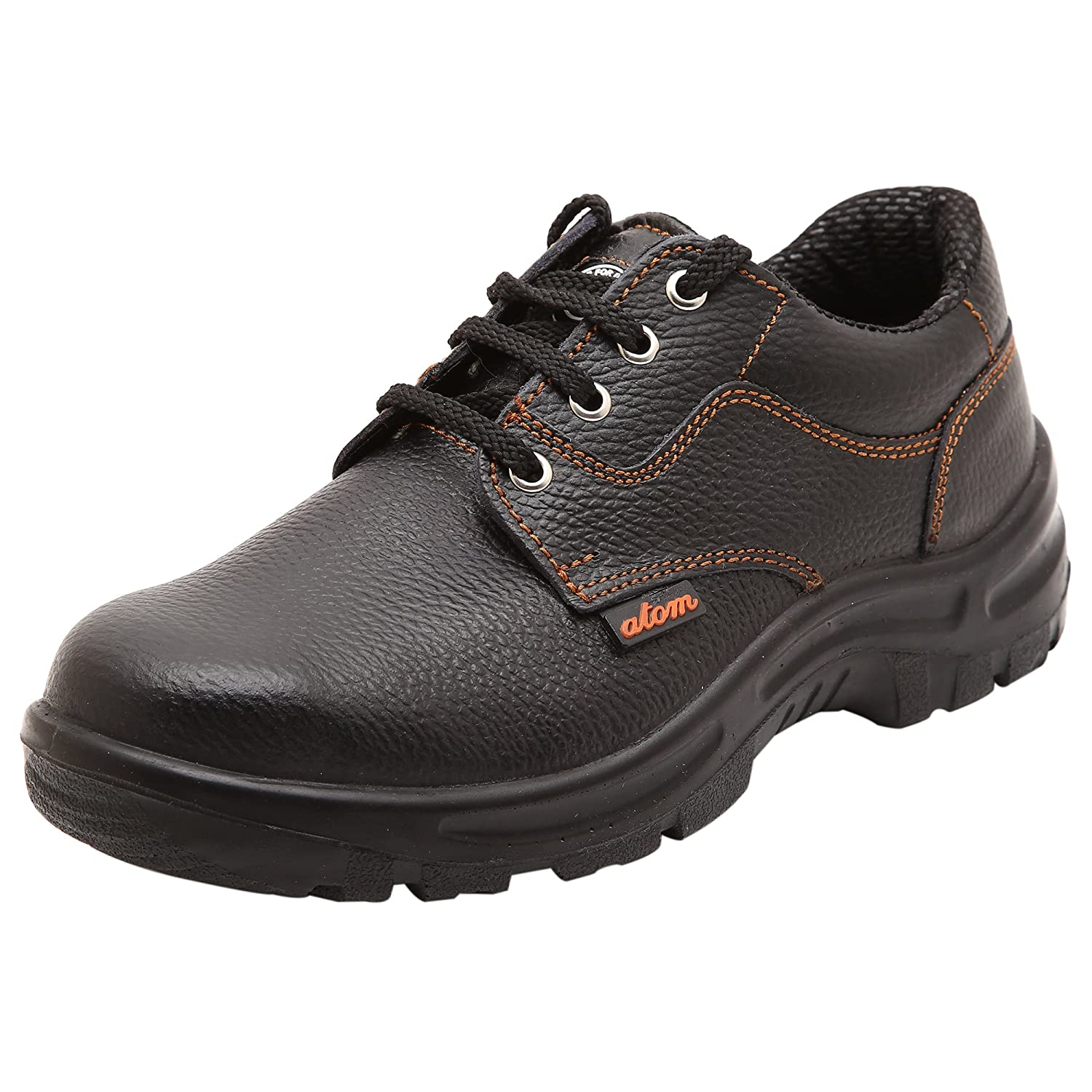 556d1ef4932e6c ACME Atom Genuine Leather Black Safety Shoes for Men (7): Amazon.in:  Amazon.in