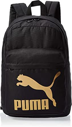 Puma Unisex Originals Backpack, Black/Gold