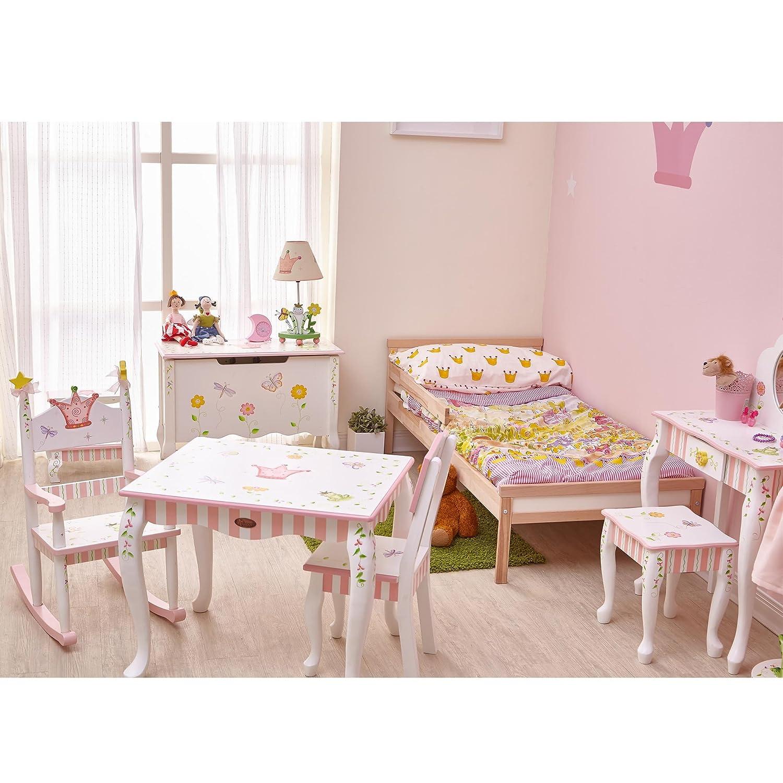 Amazon.com: Fantasy Fields - Princess & Frog Thematic Kids Vanity ...