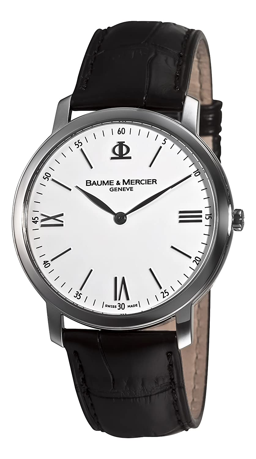 Baume & Mercier Herren 8849 Classima Executives Weiß Zifferblatt