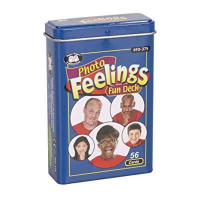 Photo Feelings Fun Deck Cards - Super Duper Educational Learning Toy for Kids: Toys & Games