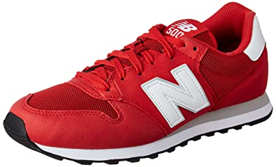 New Balance Herren Gm500 Low-top rot/weiß 43 EU: Amazon.de: Schuhe ...