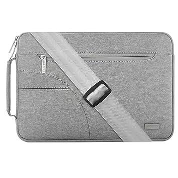 MOSISO Funda Protectora Compatible con 13-13,3 Pulgadas MacBook Air/MacBook Pro Retina/Surface Laptop 2/Surface Book, Bolsa de Hombro Blanda Maletín ...