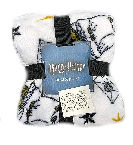 Harry Potter Manta Cama Manta Cubierta 125cm X 150cm - Harry Potter Hedwig