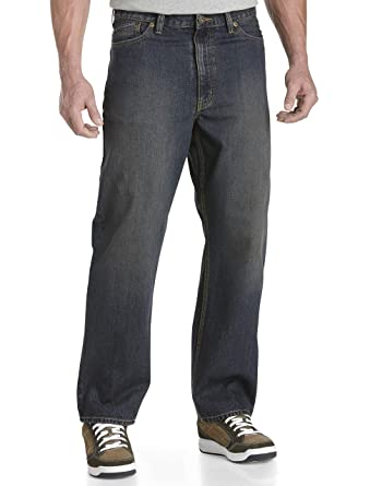 f0d5e107515 True Nation by DXL Big and Tall Relaxed-Fit Jeans at Amazon Men s Clothing  store