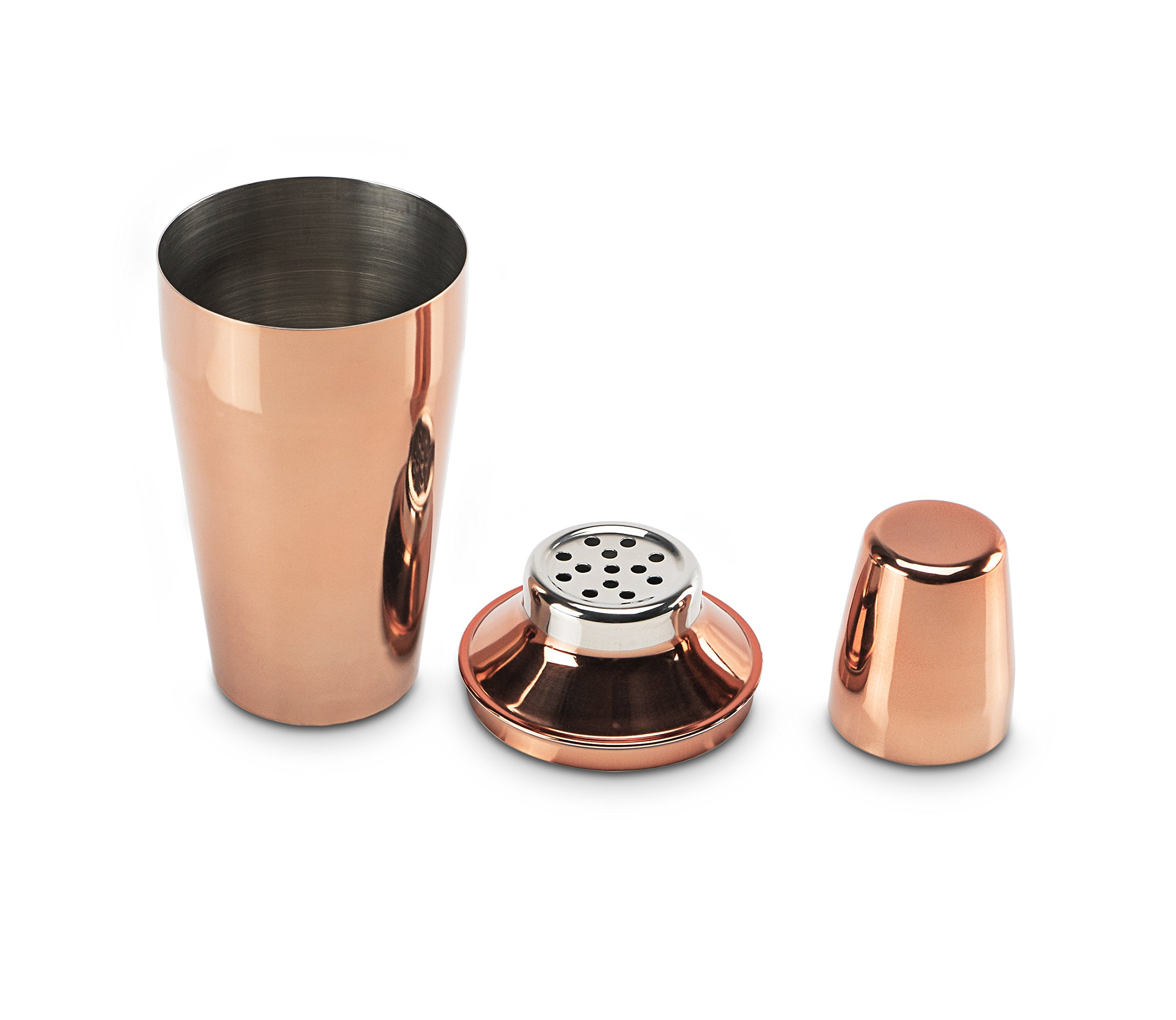 Miko Premium Cocktail Bar Set, High Grade Stainless Steel 6 Piece Set, Made In India (Rose Gold) by Miko (Image #4)