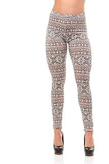 40d0d259e14b04 Premium Women's Designed Leggings Winter Warm (Regular and Plus Size)