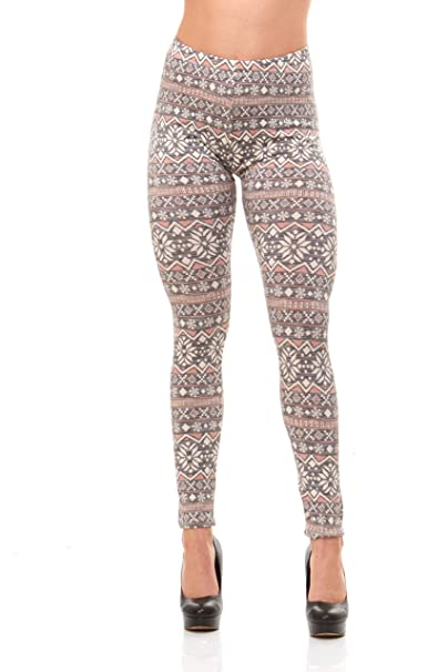 Just One Women's Leggings Extra Soft Beautiful Various Print ...