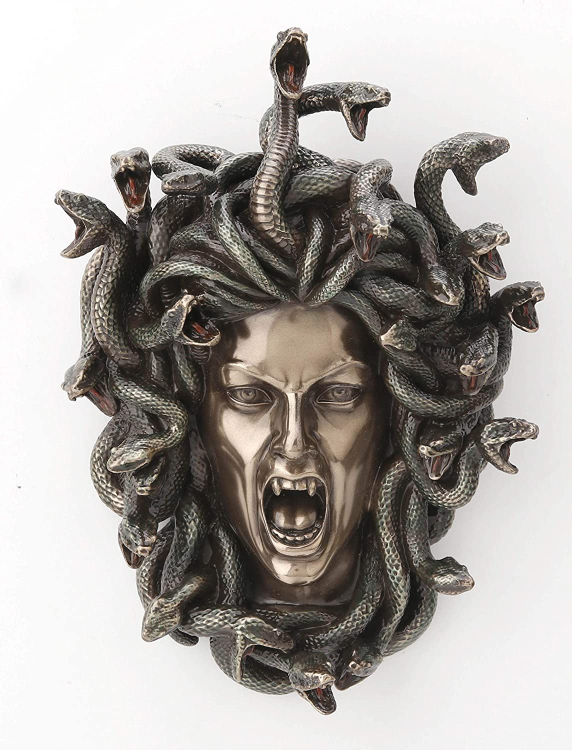 Veronese Design 7 1 4 Inch Greek Of Wall Head Medusa Challenge the lowest price of Japan Cold Plaque Manufacturer direct delivery