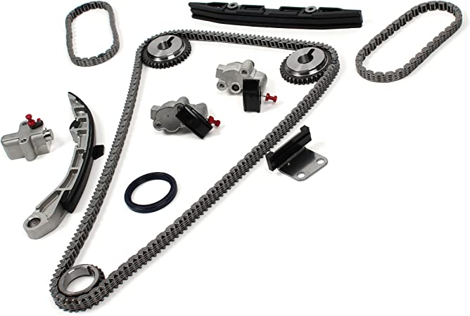Timing Chain Kit Compatible with 07-09 for Nissan Altima CodeVQ35DE 09-10 for Nissan Maxima 09-10 Nissan Murano 3.5L 3498CC V6 DOHC 24 Valve Eng