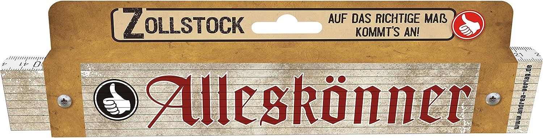 Zollstock f/ür M/änner King of the Grill M/ännergeschenk zum Geburtstag 30035