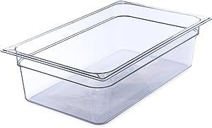 Carlisle 10202B07 StorPlus Full Size Food Pan, Polycarbonate, 6