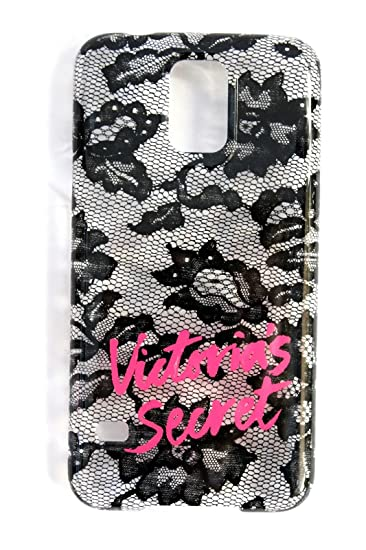 060a6ea25924c Victoria's Secret Samsung Galaxy S5 Case Phone Cover Clear Black Lace
