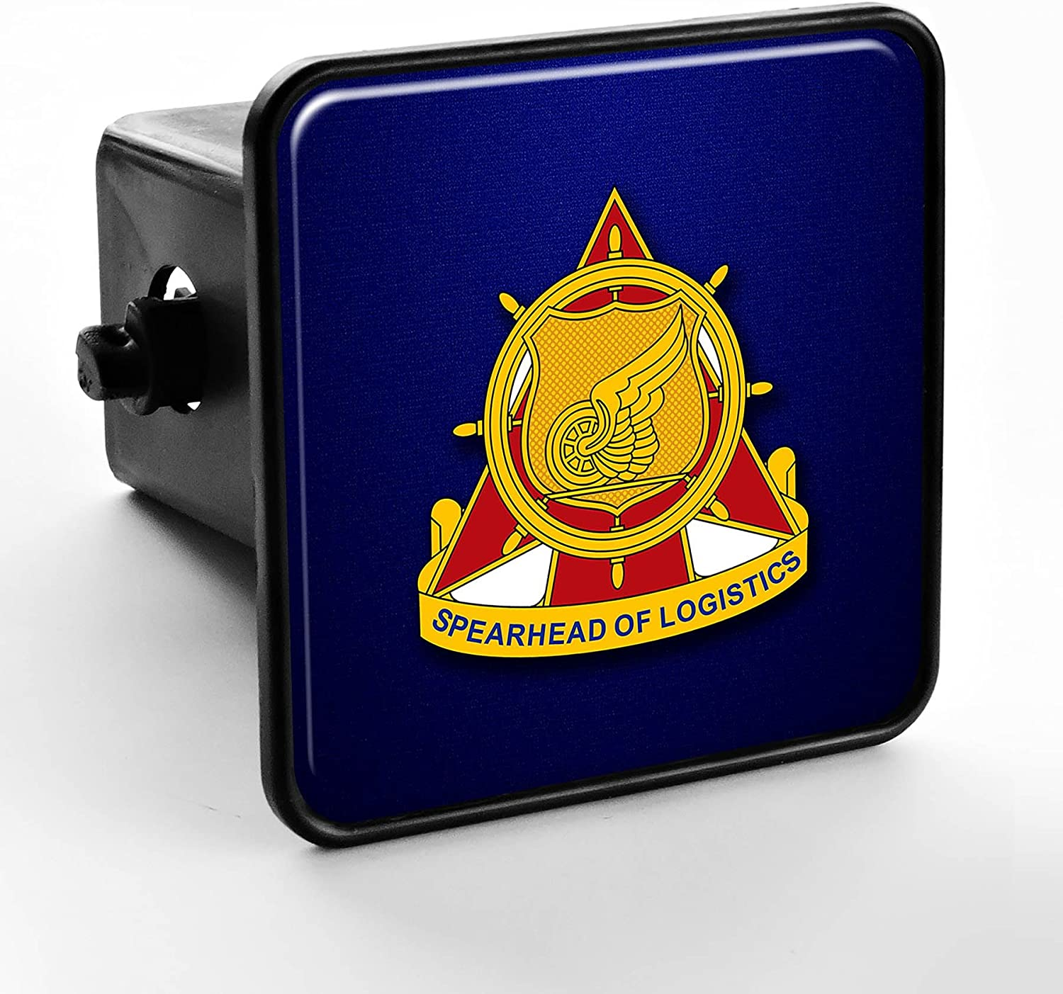 US Army Transportation Corps Regimental Insignia ExpressItBest Trailer Hitch Cover