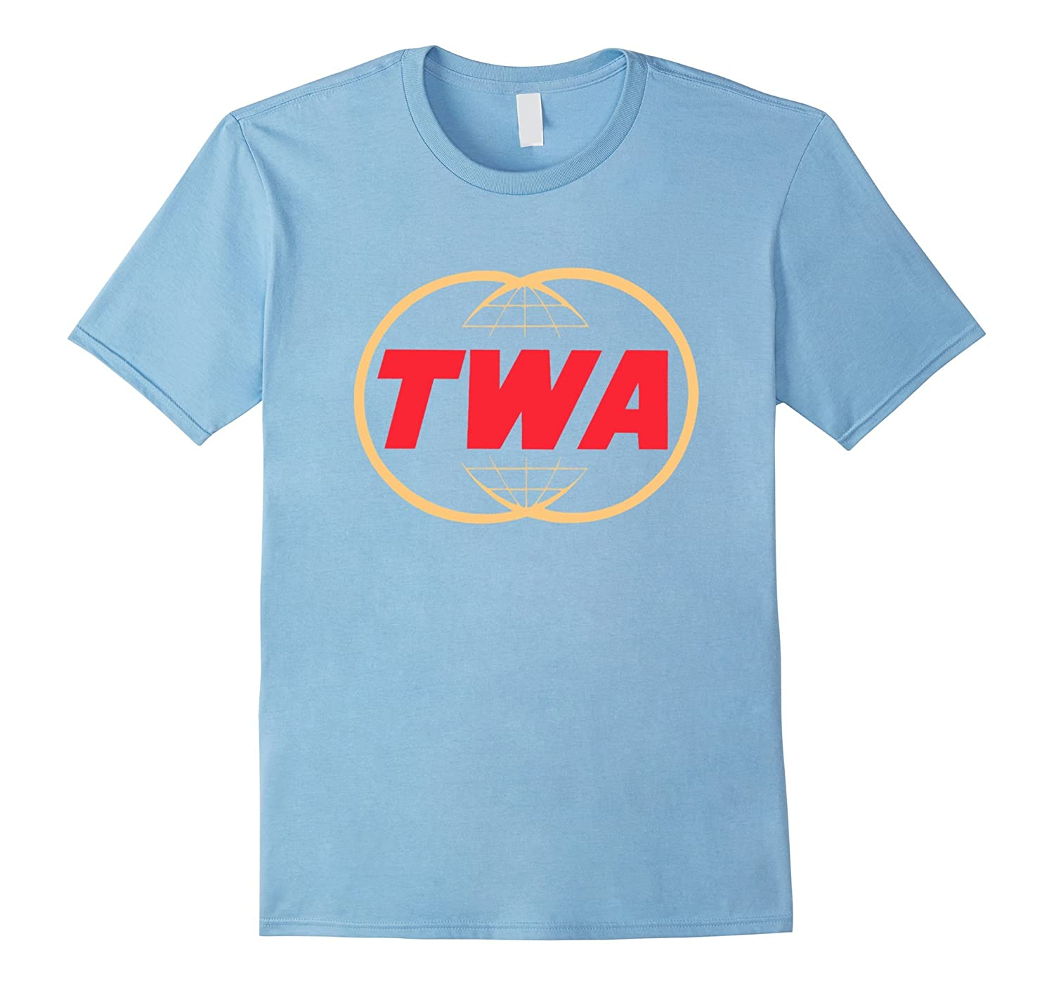 Vintage twa airline logo tee shirt td teedep for Old logo t shirts
