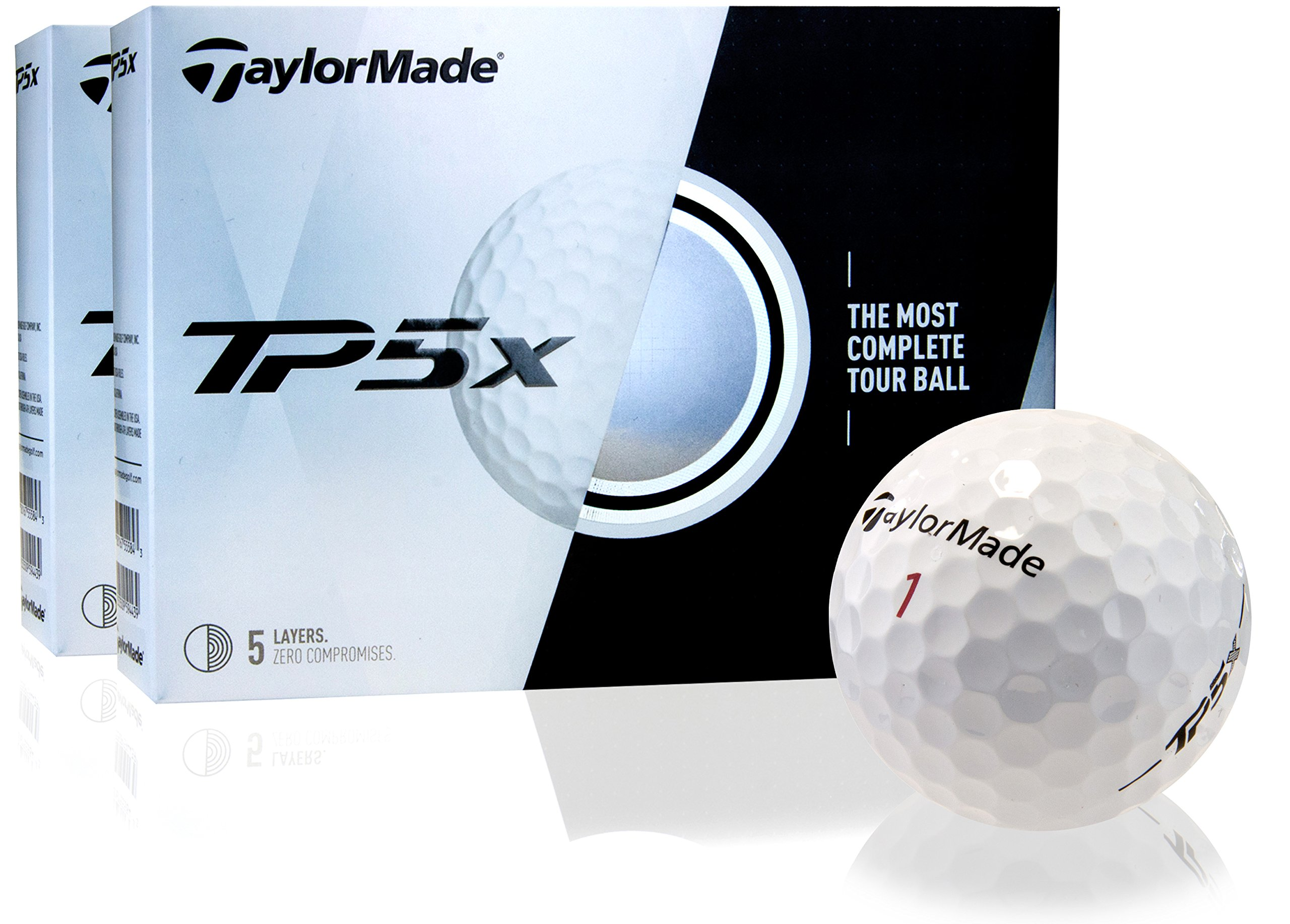 Taylor Made TP5X Golf Balls- Double Dozen