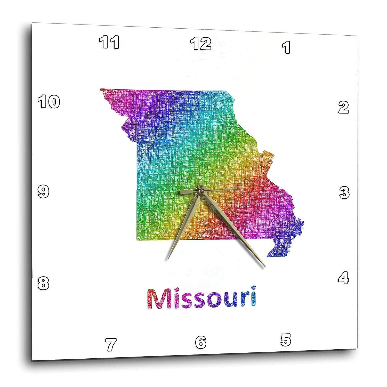 Amazon Com 3drose David Zydd Map Designs Missouri State Map