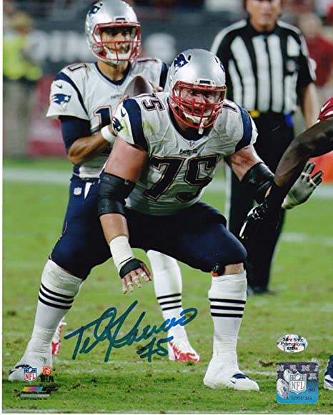 new product ce913 be6d0 Signed Ted Karras Photo - 8x10 - Autographed NFL Photos at ...