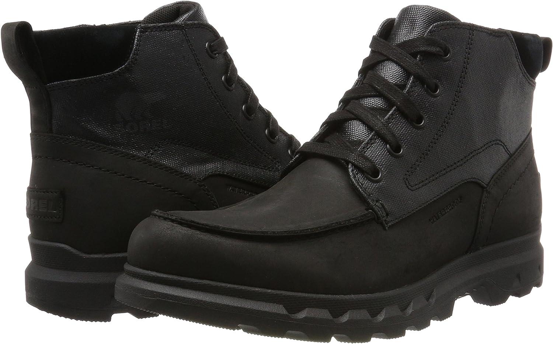 sorel men's portzman moc toe boots