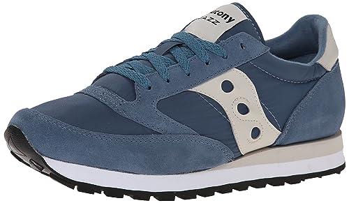 Zapatillas para hombre Saucony Jazz Original - Teal/Green, Blu/Beige, 46œ: Amazon.es: Zapatos y complementos
