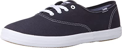 Champion Navy Canvas Shoes Wide Width