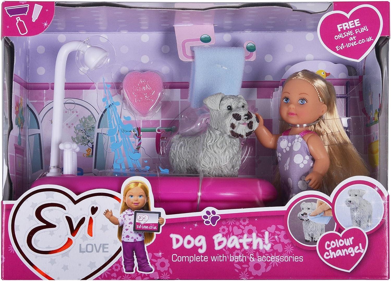 Simba 105733094 12 cm Evi Love chien jouet de bain