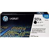 HP 501A (Q6470A) Schwarz Original Toner für HP Color Laserjet 3600, CP3505, Laserjet P2014