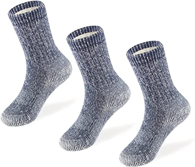 «Family look» 3 Pairs Sheep/'s Wool Women/'s Men/'s Kids Socks 100/% Natural New