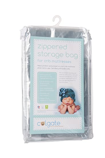 colgate zippered crib mattress storage bag
